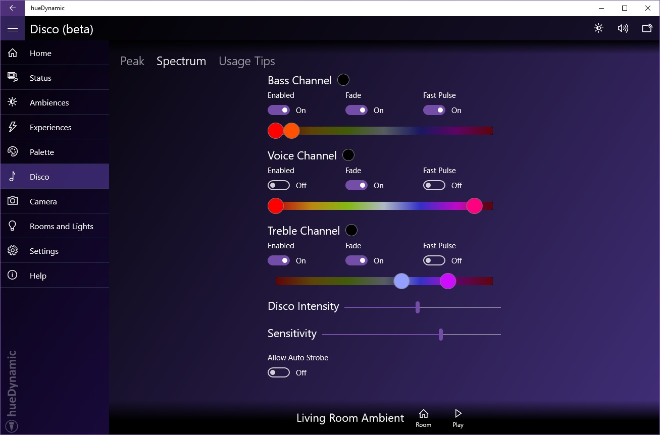 The Ultimate Hue Lights App • hueDynamic for Philips Hue
